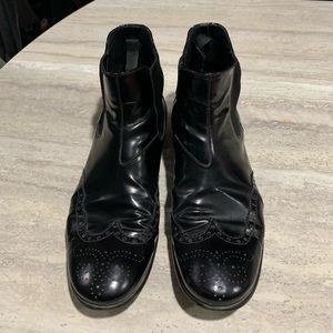 Prada Milano leather Dress Boots